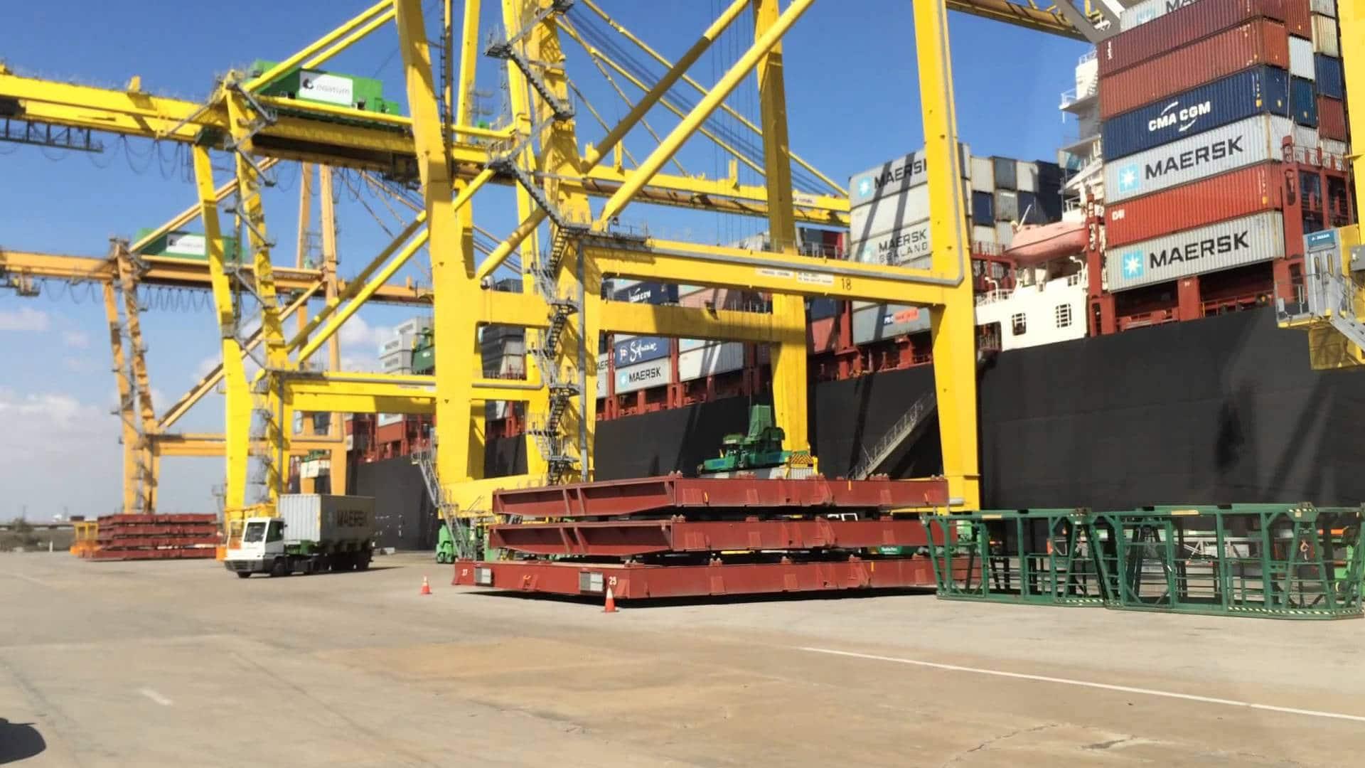 Empresas de piedra afectadas por los paros de los estibadores en los puertos